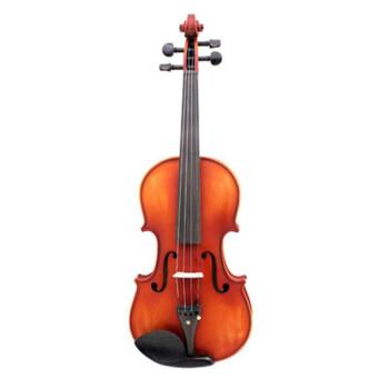 奇宝居楓木入門バイオリン子供大人初心者入力品演奏バイオリン子供入門楽器マット1/8琴高43 cm(4-5歳向け)