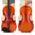 クレシティーナV 04手作りの実木バイオリン成人児童试験の初心者入门入力品は、バイオリン1/2の身长130 cm以上を演奏します。