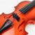 音楽を弾くことができます。バイオリンの初めての心を演奏します。子供楽器女の子の男の子のおもちゃは39 cm木の赤い色です。松の香り張り紙
