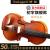 凤灵バイオリン儿童成人初心者手工实木乐器新手入门考级練習演奏 5年自然风干A级鱼鳞松面板 1/4适用身高120cm-129cm
